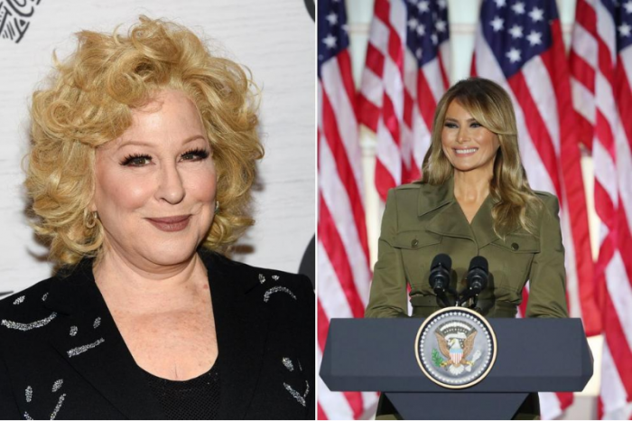 Bette Midler Calls Melania Trump 'Illegal Alien' in Tweetstorm During RNC 2020