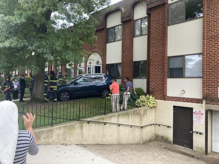 BREAKING: Car Crashes into House in Cedarhurst