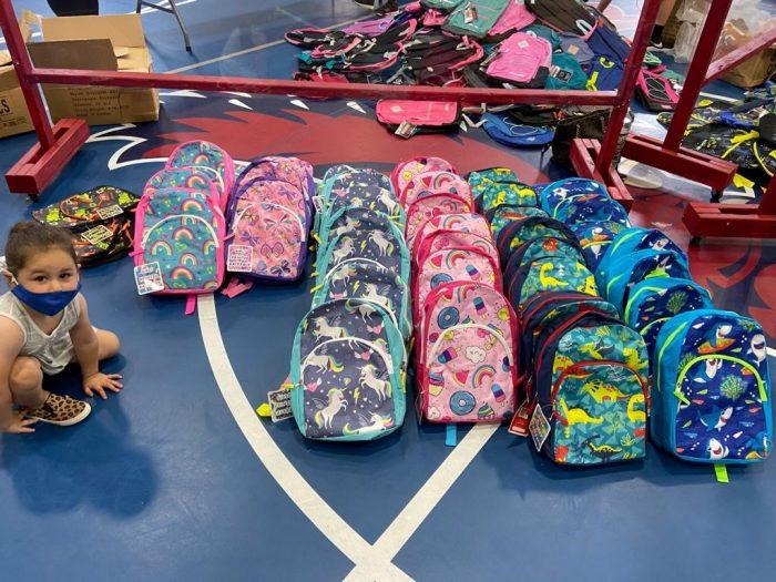 JCCRP and KR Host School Supplies Drive