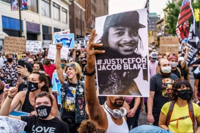WATCH: Hundreds of Protesters March in Manhattan for Jacob Blake