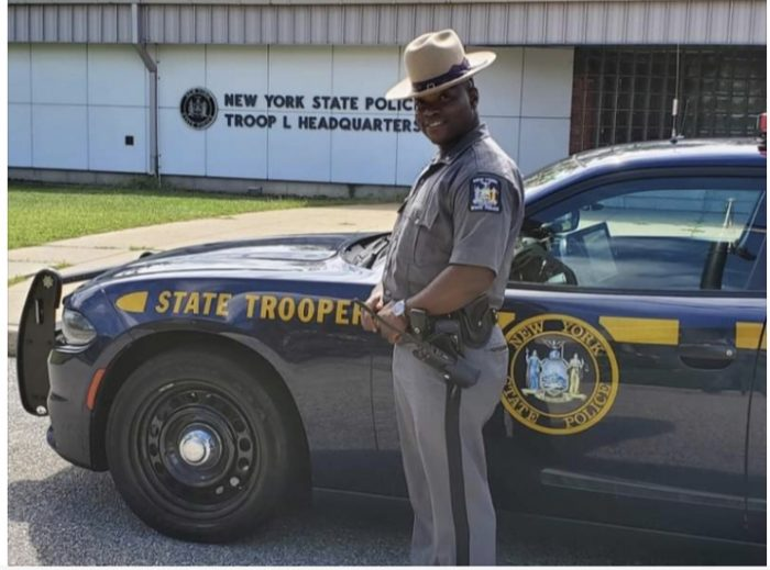 New York State Trooper Goes Above and Beyond the Call of Duty