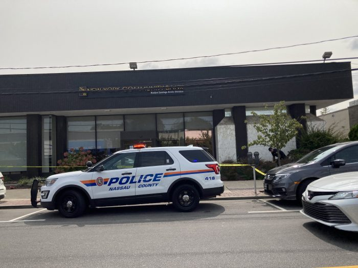 Bank Robbery at Roslyn Savings Bank on Central ave