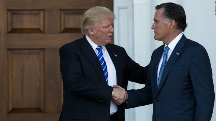 Sen. Mitt Romney will vote on Trump's Supreme Court Nominee