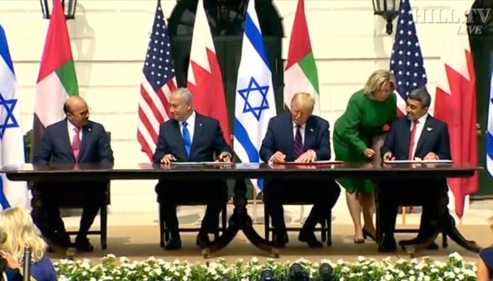 History Made: Signing of the Abraham Accords at the White House