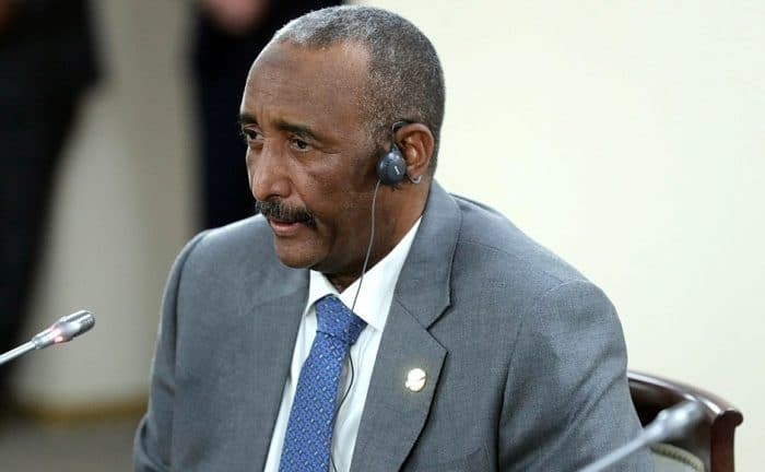 Sudanese leader says deal with Israel would benefit his country economically