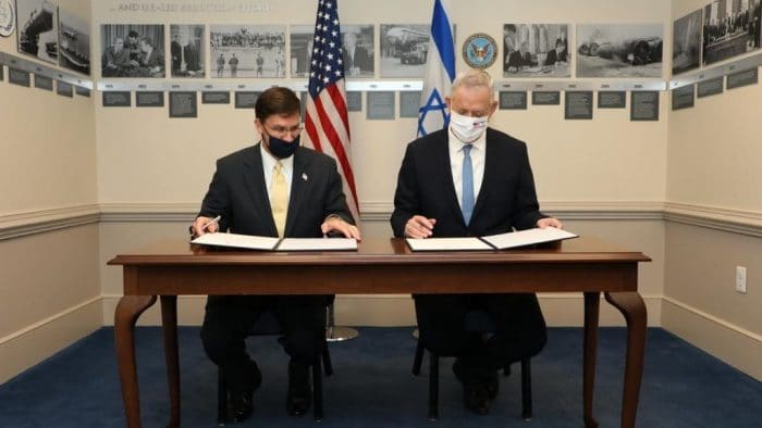 US and Israel sign agreement  to maintain Israel's strategic superiority