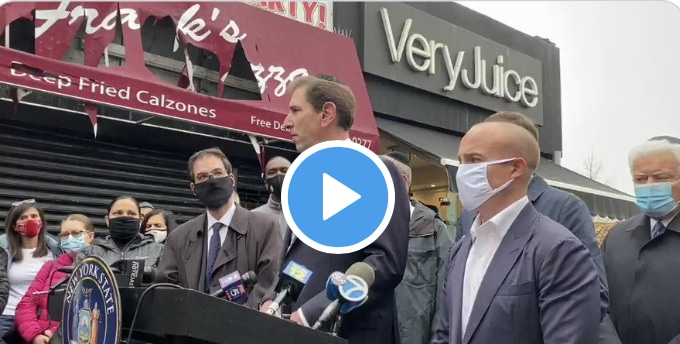 WATCH: Councilman Chaim Deutsch calling out governor Cuomo's Anti-semitism