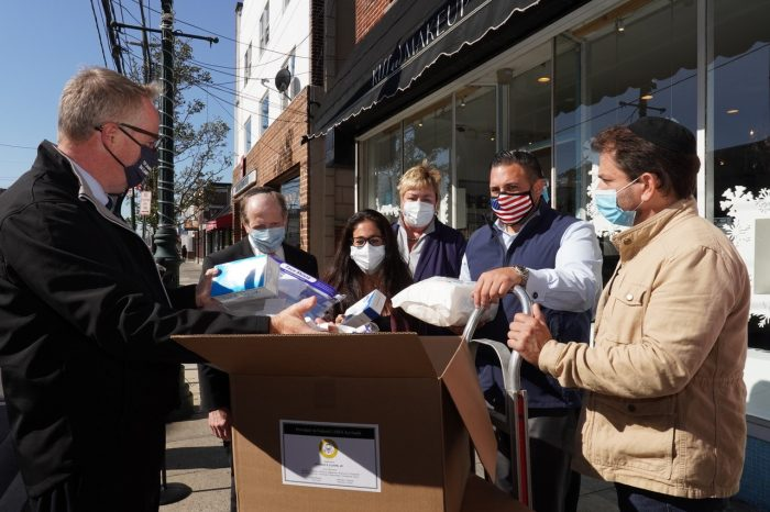 PPE Kit Giveaway Initiative for Small Businesses Continues in Cedarhurst