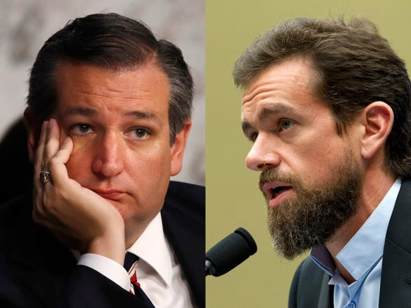 WATCH: Ted Cruz announces Senate Judiciary Committee will vote to subpoena Jack Dorsey