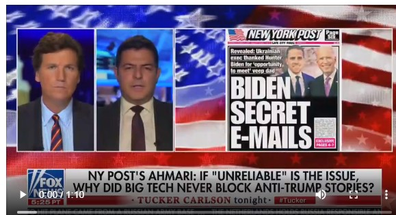 WATCH: NY Post's Ahmari on Tucker Carlson