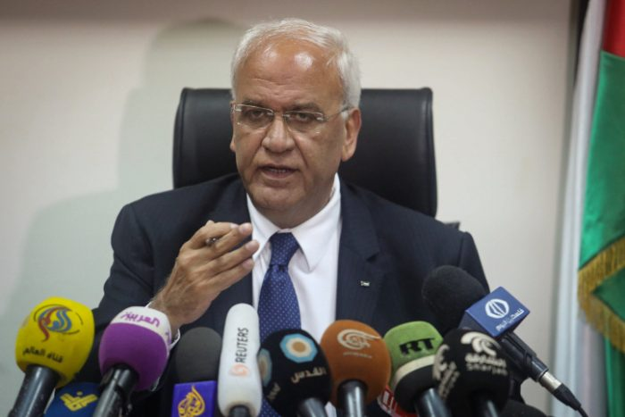 Chief Palestinian negotiator Saeb Erekat dies of COVID-19 complications
