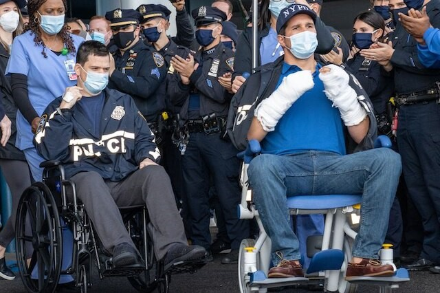 NYPD Officers released from Hospital after Queens shooting