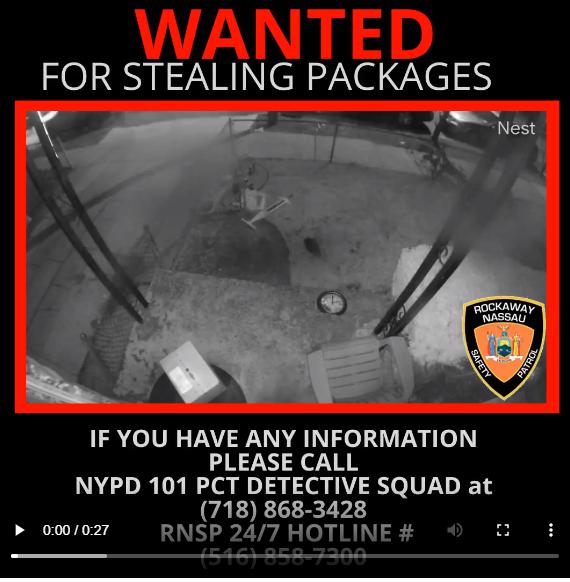 Stolen Packages in Far Rockaway