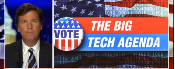 WATCH: Tucker Carlson takes on Big Tech