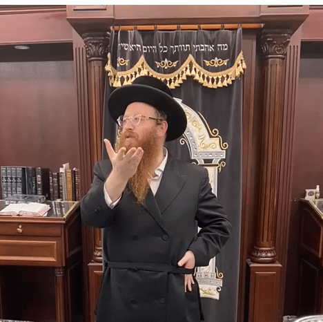 """Watch: Rabbi Weitz """"We are just Guests here"""""""