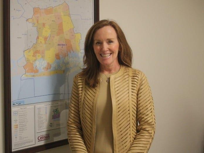 Kathleen Rice declares Victory