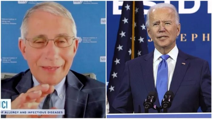 WATCH: Biden asks Dr. Fauci to be his Chief Medical Adviser