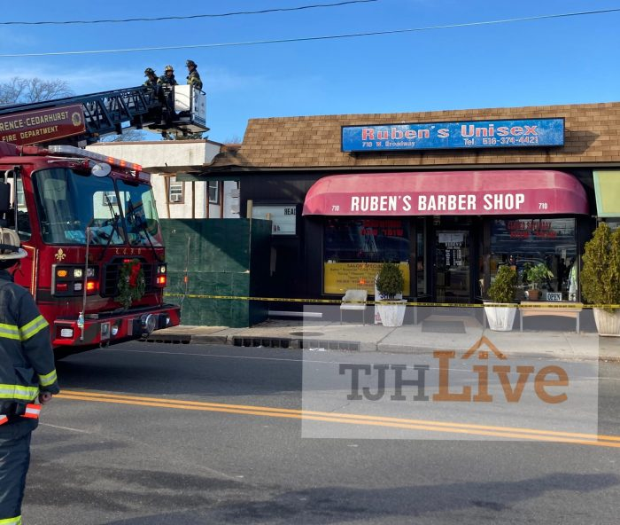 Building Collapse in Woodmere next to Rubens Barber shop