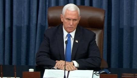 Watch: Mike Pence reconvenes Congress to count electoral votes