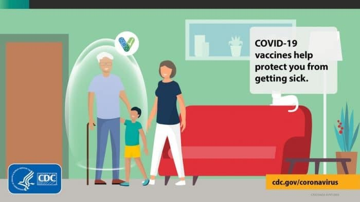 CDC says people who are fully vaccinated against Covid can meet safely indoors without masks