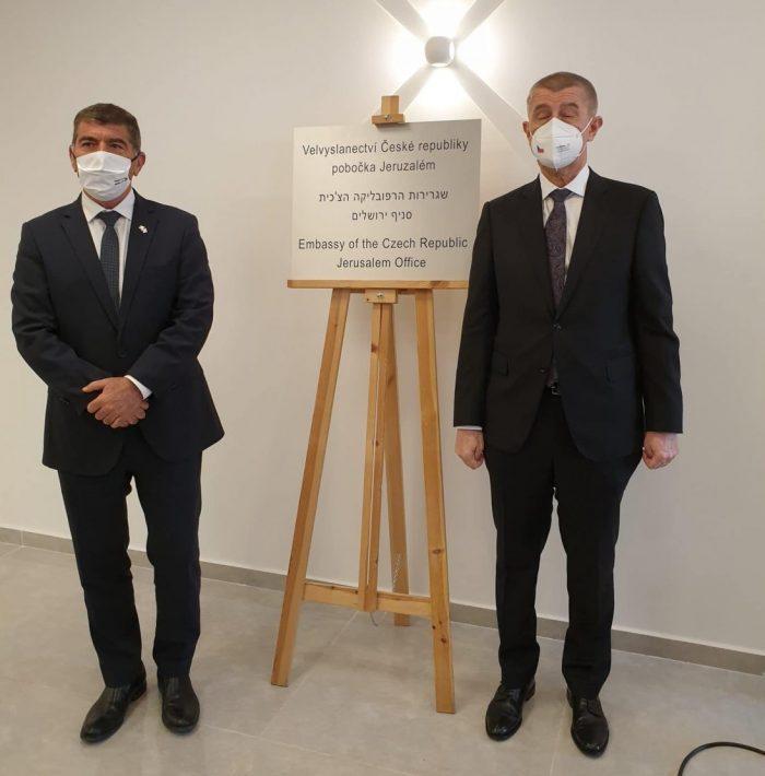 Czech Republic opens Embassy in Jerusalem